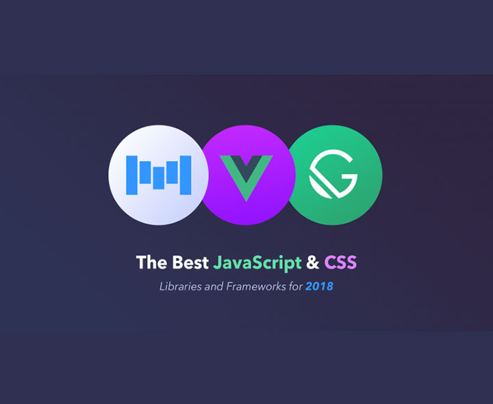 The Best JavaScript And Css Libraries And Frameworks for 2019